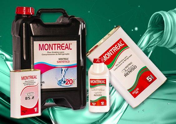 Óleo para Refrigeração Montreal
